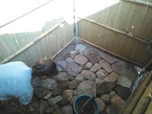 Making stone floor