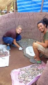 Making Toilet Floor