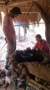 Preparing foundation. Lots of appreciation to all volunteers who contributed! Especially Morgan and Ken